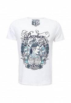 Мужская белая футболка Mezaguz