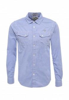 Мужская голубая рубашка Mezaguz