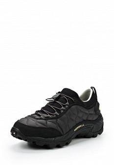 Мужские черные осенние кроссовки