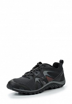 Мужские черные кожаные трекинговые ботинки