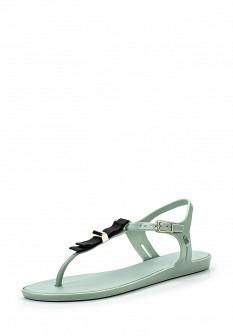 Женские мятные сандалии Melissa