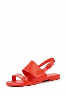 Женские красные сандалии Melissa