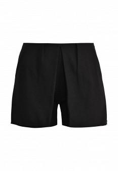 Женские черные итальянские осенние шорты