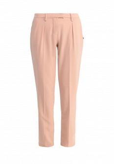 Женские бежевые итальянские осенние брюки