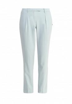 Женские мятные итальянские осенние брюки