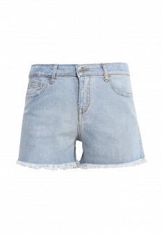 Женские голубые итальянские джинсовые шорты