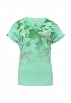 Женская мятная футболка MET