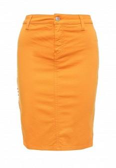 Оранжевая юбка MET