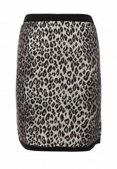 Серая осенняя юбка Milana Style