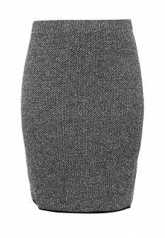 Серая юбка Milana Style