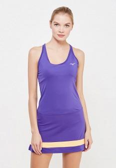 Фиолетовое осеннее платье