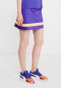 Фиолетовая осенняя юбка Mizuno