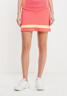 Розовая осенняя юбка Mizuno