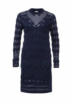 Синее осеннее платье M Missoni