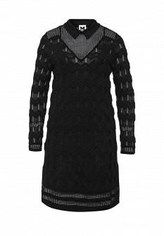 Черное осеннее платье M Missoni