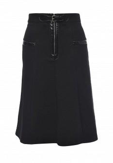 Черная осенняя юбка M Missoni