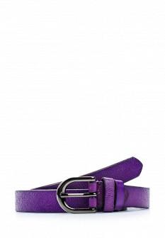 Женский фиолетовый осенний ремень