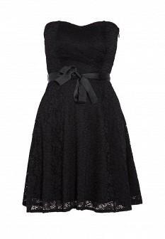 Черное платье Morgan