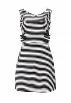 Белое черное платье Morgan