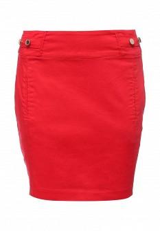 Красная осенняя юбка Morgan