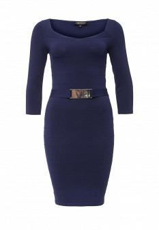 Синее платье Morgan
