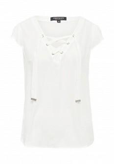 Женская белая футболка Morgan