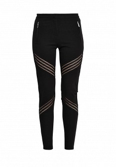 Женские черные брюки Morgan