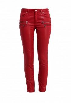 Женские бордовые брюки Morgan
