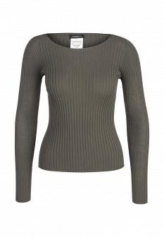 Женский зеленый итальянский осенний свитер