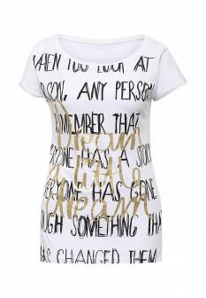 Женская белая футболка Motivi