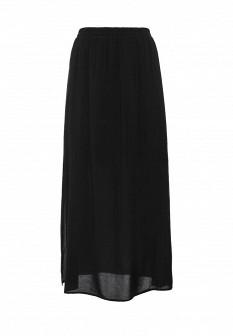 Черная осенняя юбка Motivi