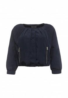 Женская синяя осенняя куртка