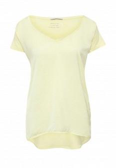 Женская желтая футболка Motivi