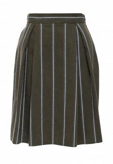 Зеленая итальянская юбка