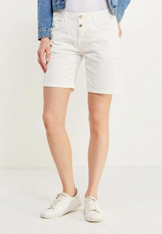 Женские белые джинсовые шорты
