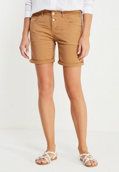 Женские коричневые шорты Motivi