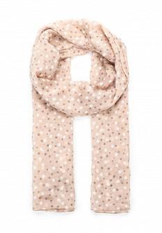 Женский розовый итальянский шарф