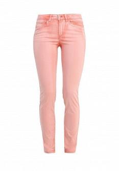 Женские коралловые брюки