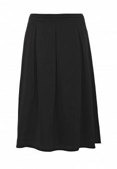 Черная осенняя юбка More&More