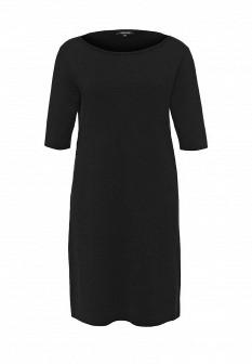 Черное осеннее платье More&More