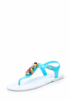 Женские бирюзовые сандалии Mon Ami