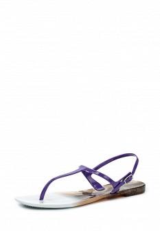 Женские фиолетовые сандалии
