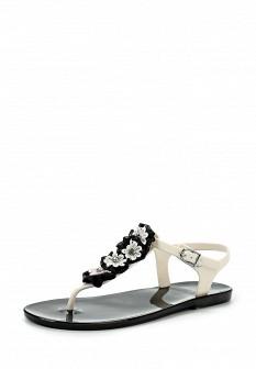 Женские белые сандалии Mon Ami