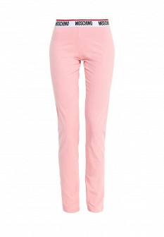 Женские розовые осенние брюки