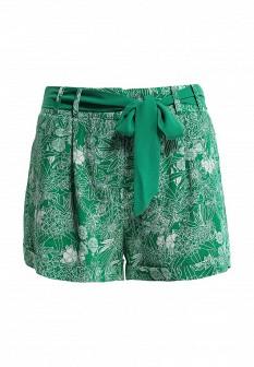 Женские зеленые шорты NAF NAF