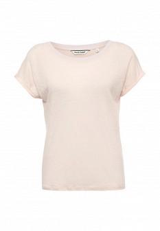 Женская розовая футболка NAF NAF
