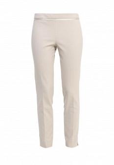 Женские бежевые брюки NAF NAF