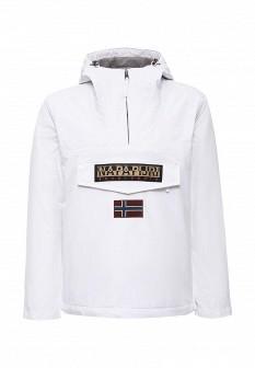 Мужская белая утепленная осенняя куртка