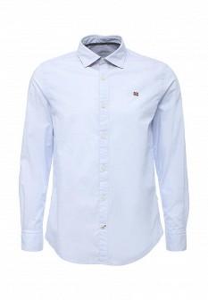 Мужская голубая рубашка NAPAPIJRI