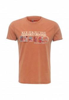 Мужская оранжевая футболка NAPAPIJRI